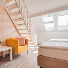 Апартаменты Bright Prague Castle Apartments Прага комната для гостей
