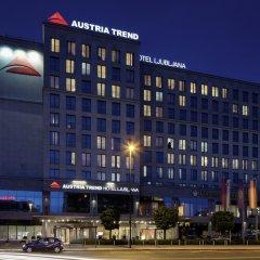 Austria Trend Hotel Ljubljana вид на фасад фото 3