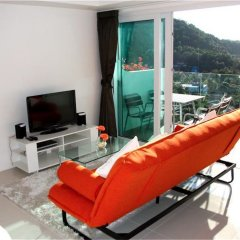 Отель Kata Ocean View 1 bedroom Great Sea View пляж Ката балкон