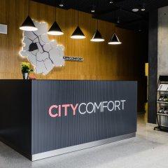 Отель Апарт-отель City Comfort Польша, Варшава - 8 отзывов об отеле, цены и фото номеров - забронировать отель Апарт-отель City Comfort онлайн интерьер отеля