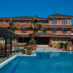 Отель Crowne Plaza Hotel Kathmandu-Soaltee Непал, Катманду - отзывы, цены и фото номеров - забронировать отель Crowne Plaza Hotel Kathmandu-Soaltee онлайн бассейн