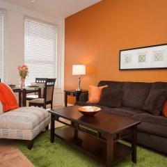 Отель Sunshine Suites at 417 США, Лос-Анджелес - отзывы, цены и фото номеров - забронировать отель Sunshine Suites at 417 онлайн комната для гостей фото 4