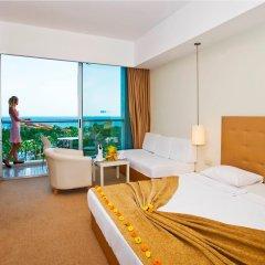 Kervansaray Kundu Beach Hotel Турция, Кунду - 5 отзывов об отеле, цены и фото номеров - забронировать отель Kervansaray Kundu Beach Hotel онлайн комната для гостей