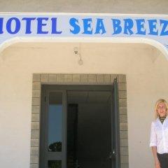 Отель Sea Breeze Скалея балкон
