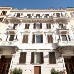 Hotel Alpi Рим вид на фасад