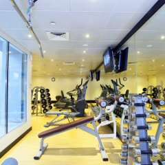 Отель Samaya Hotel Deira ОАЭ, Дубай - отзывы, цены и фото номеров - забронировать отель Samaya Hotel Deira онлайн фитнесс-зал фото 2