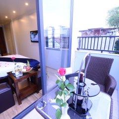 Отель Hanoi Bella Rosa Suite Hotel Вьетнам, Ханой - отзывы, цены и фото номеров - забронировать отель Hanoi Bella Rosa Suite Hotel онлайн балкон