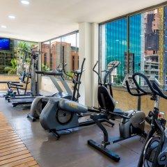 Porton Medellin Hotel фитнесс-зал