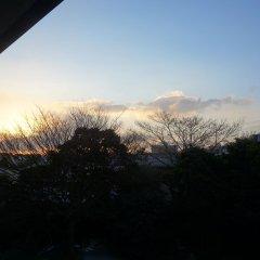 Отель Ryokan Nagomitsuki Беппу балкон