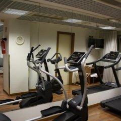 Отель UNAHOTELS Scandinavia Milano фитнесс-зал