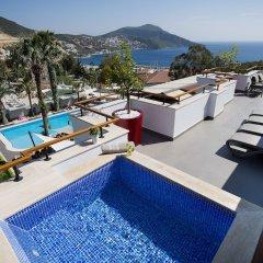 Samira Exclusive Hotel & Apartments Турция, Калкан - отзывы, цены и фото номеров - забронировать отель Samira Exclusive Hotel & Apartments онлайн бассейн фото 2
