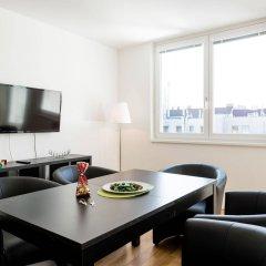 Отель Duschel Apartments Wien-Hauptbahnhof Австрия, Вена - отзывы, цены и фото номеров - забронировать отель Duschel Apartments Wien-Hauptbahnhof онлайн комната для гостей фото 4