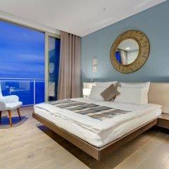 Отель Super Luxury Apartment in Tigne Point, Amazing Ocean Views Мальта, Слима - отзывы, цены и фото номеров - забронировать отель Super Luxury Apartment in Tigne Point, Amazing Ocean Views онлайн комната для гостей фото 2