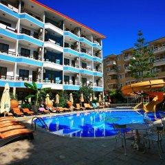 Kleopatra Fatih Hotel Аланья бассейн