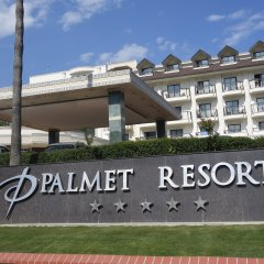 Отель Palmet Beach Resort Кемер вид на фасад