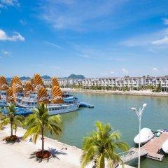 Отель Tuan Chau Marina Hotel Вьетнам, Халонг - отзывы, цены и фото номеров - забронировать отель Tuan Chau Marina Hotel онлайн пляж фото 2