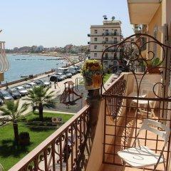 Villa Mora Hotel Джардини Наксос балкон