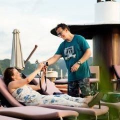 Отель Glory Legend Cruise Халонг фитнесс-зал