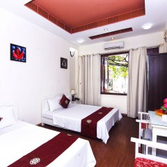 Отель Hanoi Central Homestay Ханой комната для гостей