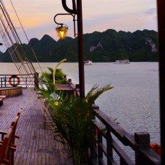 Отель Pelican Halong Cruise бассейн