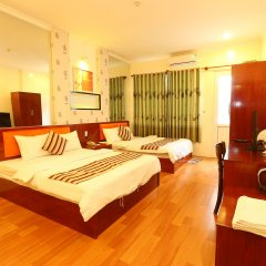 Saigon Crystal Hotel комната для гостей фото 2