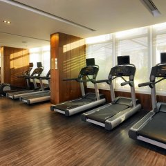 Отель Marriott Sukhumvit Бангкок фитнесс-зал