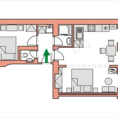 Отель Apartmány U Tržnice балкон
