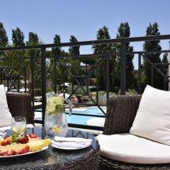 Отель Isola Sacra Rome Airport балкон