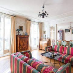 Отель onefinestay - Montparnasse Apartments Франция, Париж - отзывы, цены и фото номеров - забронировать отель onefinestay - Montparnasse Apartments онлайн комната для гостей фото 5