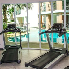 Отель Paradise Park Condo Паттайя фитнесс-зал фото 2