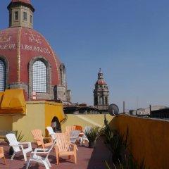 Отель Hostal Amigo Suites Мехико бассейн фото 2
