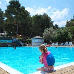 Отель Camping Le Pianacce Кастаньето-Кардуччи бассейн