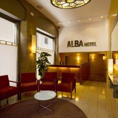 Alba Hotel Барселона интерьер отеля