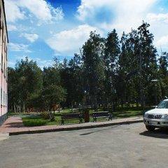 Гостиница Березовая Роща парковка