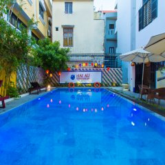 Hai Au Boutique Hotel & Spa бассейн