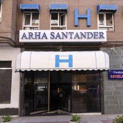 Отель Pinamar Сантандер вид на фасад