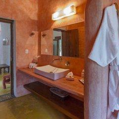 Отель Hacienda Santa Cruz ванная фото 2