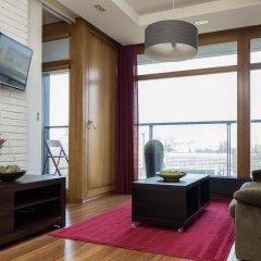 Отель Chopin Apartments City Польша, Варшава - отзывы, цены и фото номеров - забронировать отель Chopin Apartments City онлайн комната для гостей фото 5