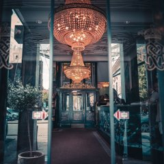 Отель Royal Дания, Орхус - отзывы, цены и фото номеров - забронировать отель Royal онлайн интерьер отеля фото 2