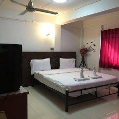 Апартаменты President Apartment Паттайя комната для гостей фото 5