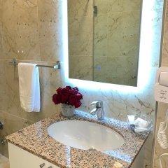 Отель Ramel Hotel Албания, Тирана - отзывы, цены и фото номеров - забронировать отель Ramel Hotel онлайн ванная фото 2