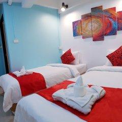 Khaosan Art Hotel Бангкок комната для гостей фото 5