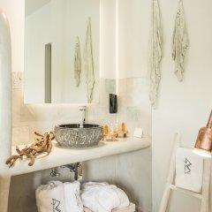 Отель Blue Carpet Luxury Suites Греция, Ханиотис - отзывы, цены и фото номеров - забронировать отель Blue Carpet Luxury Suites онлайн ванная фото 3