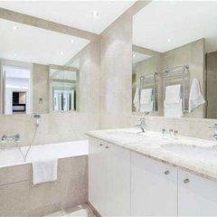 Отель Morgan Lodge Apartments Belgrave Court Великобритания, Лондон - отзывы, цены и фото номеров - забронировать отель Morgan Lodge Apartments Belgrave Court онлайн ванная