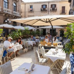 Antico Hotel Roma 1880 Сиракуза питание фото 2