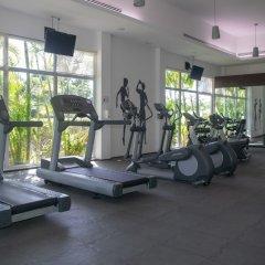 Отель Mareazul Family Beach Condohotel Плая-дель-Кармен фитнесс-зал фото 4