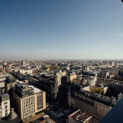 Апартаменты P&O Apartments Zgoda Варшава балкон