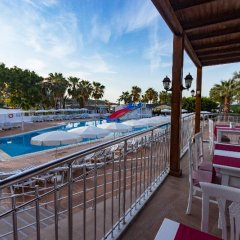 Maya World Beach Турция, Окурджалар - отзывы, цены и фото номеров - забронировать отель Maya World Beach онлайн балкон