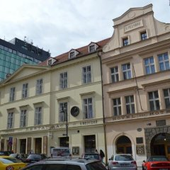U Medvidku-Brewery Hotel вид на фасад фото 2