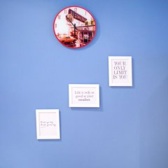 Апартаменты Blue Happy Apartment Варшава интерьер отеля